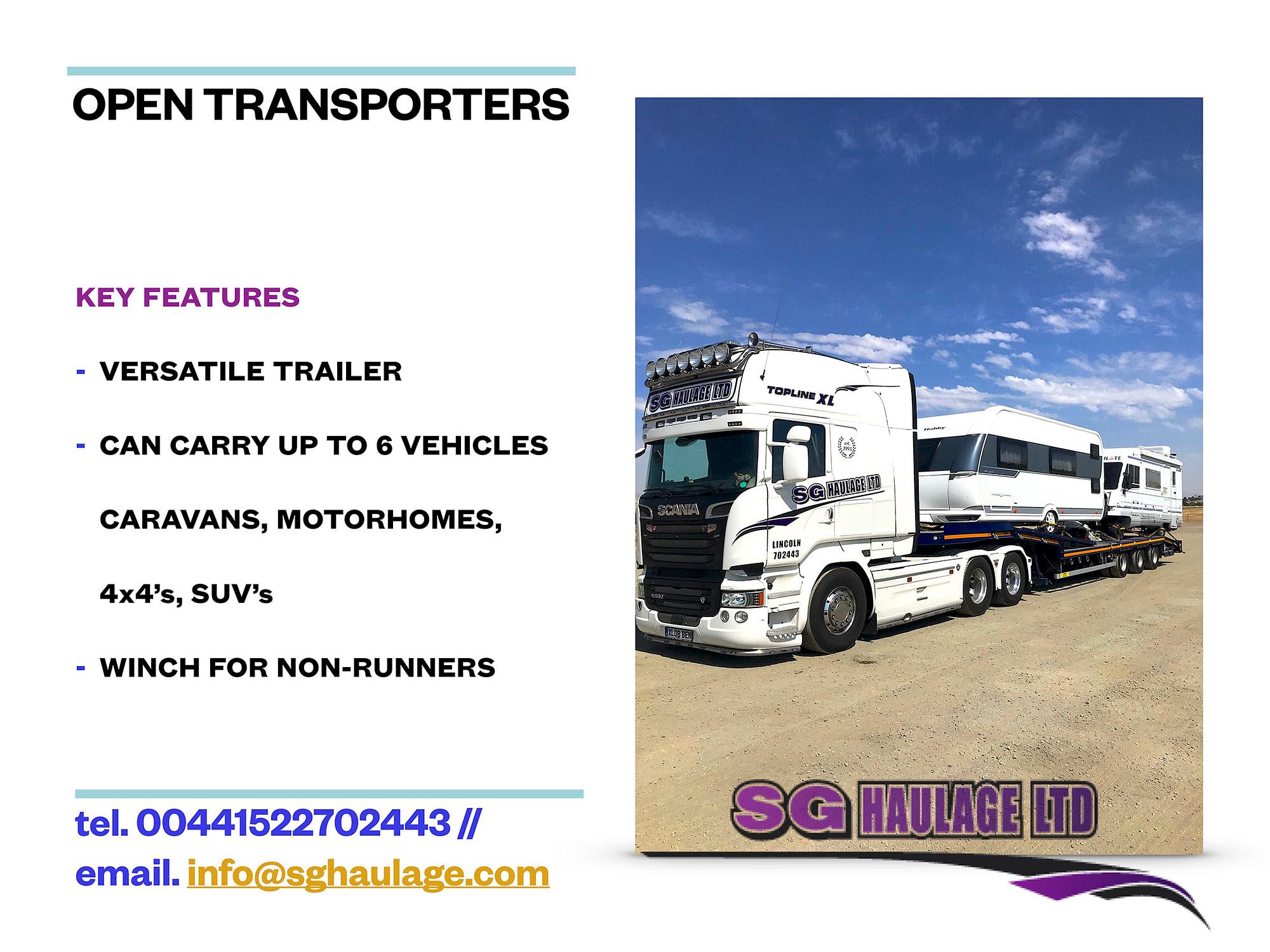 Open Transporters