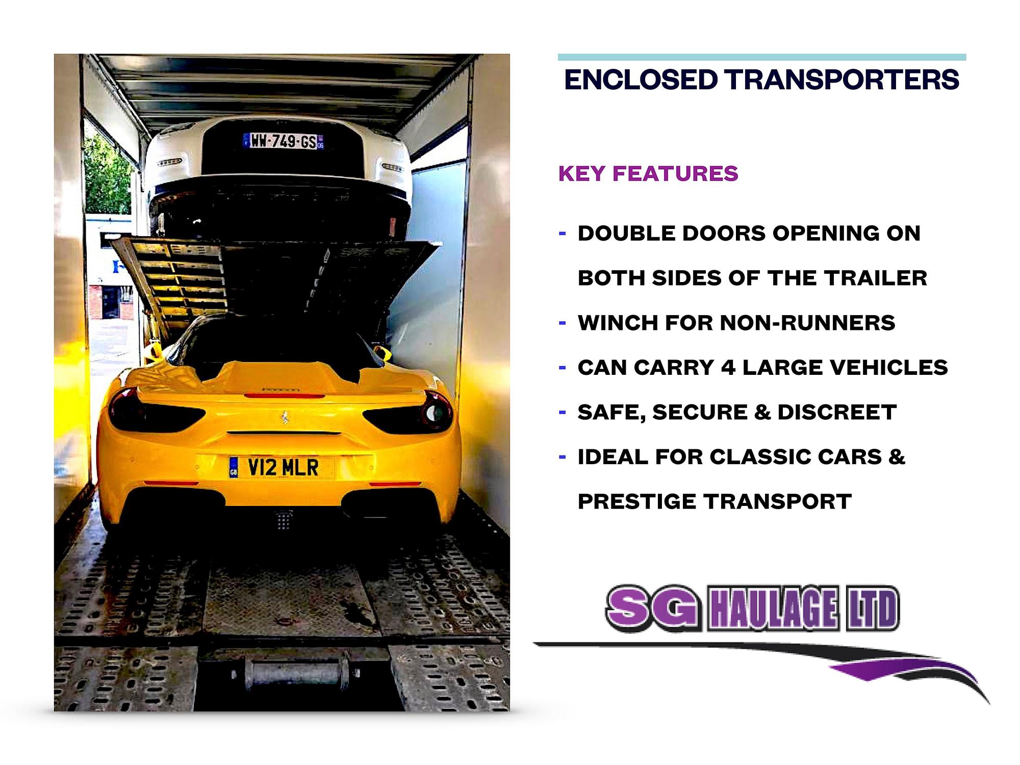 Enclosed Transporters