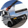 Truck loading container